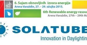 6. Sajam obnovljivih izvora energije, Varaždin, 27.3. - 29.3.2015